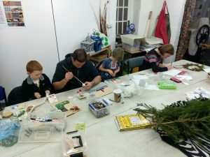 Christmas decoration workshop